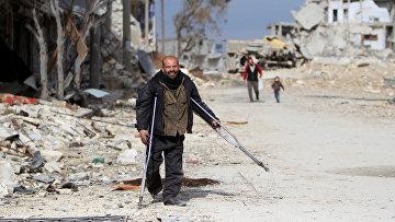 Руины Алеппо, Сирия