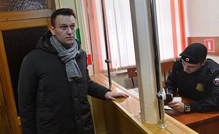 Алексей Навальный в Ленинском суде Кирова