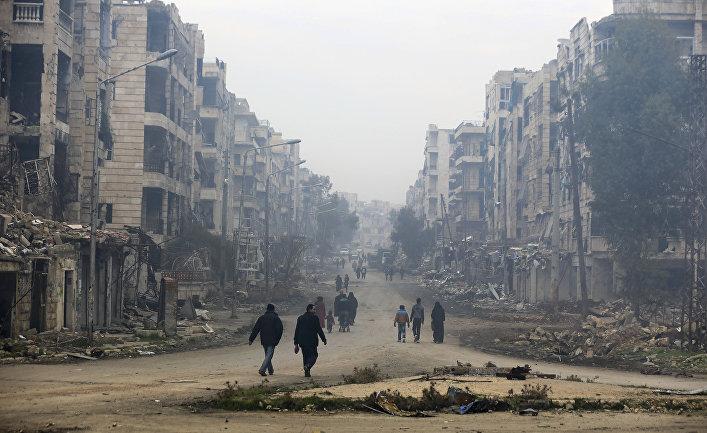 ООН: Сирийская армия сбрасывала наАлеппо бомбы схлором