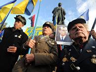 Марш националистов в Киеве