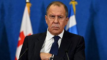 Министр иностранных дел России Сергей Лавров в Белграде