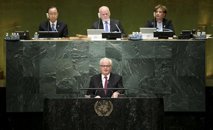 Постоянный представитель России при ООН Виталий Чуркин скончался вНью-Йорке