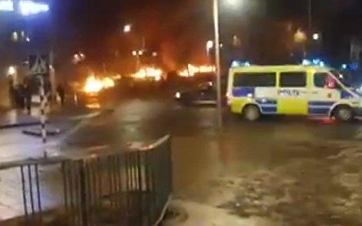 Погромы в Стокгольме