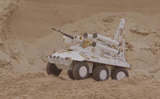 Украинский «Фантом» в песках  ОАЭ