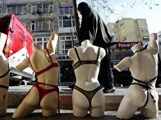 Магазин нижнего белья в Стамбуле