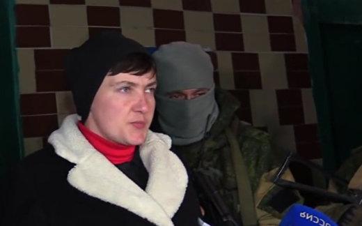 Савченко посетила украинских военнопленных