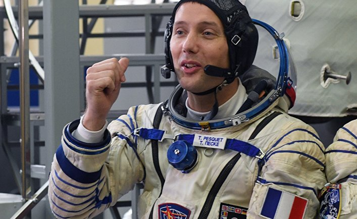 Член основного экипажа 50/51-й экспедиции на Международную космическую станцию астронавт ЕКА Тома Песке