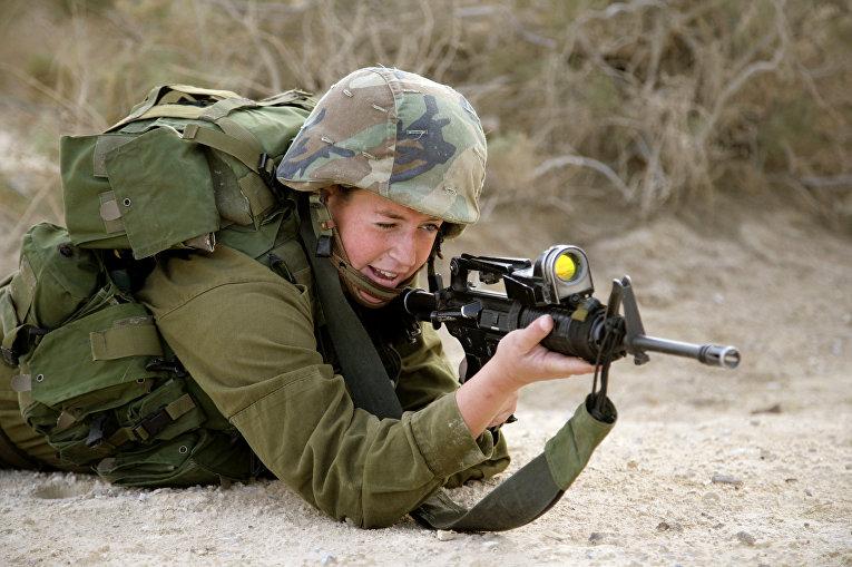 Боец израильской армии