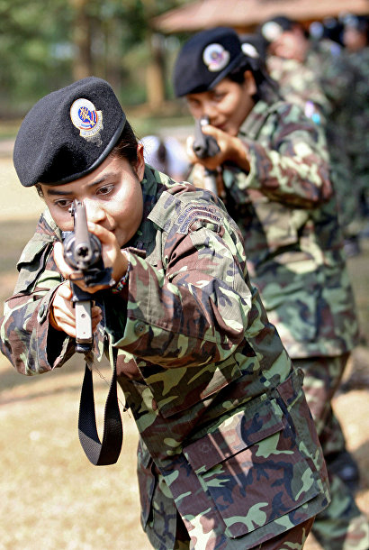 Женщины из таиландской