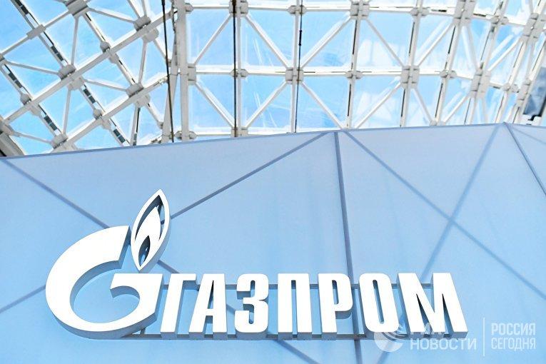 Эмблема ПАО «Газпром»
