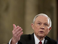 Кандидат в министры юстиции США сенатор-республиканец Джефф Сешнс