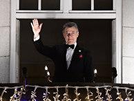 Колумбийский президент и лауреат Нобелевской премии мира 2016 года Хуан Мануэль Сантос в Осло