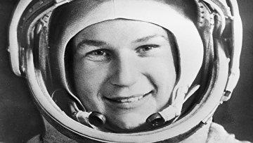 Летчик-космонавт Валентина Терешкова