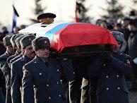 Похороны Михаила Калашникова