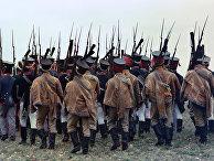 Театрализованное представление в Бородинском военно-историческом музее-заповеднике