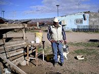 74-летний Сеферино Рохас живет в мексиканском пограничном городке Пуэрто Паломас