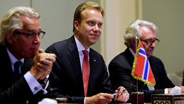 Министр иностранных дел Норвегии Берге Бренде