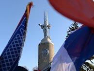 Памятник русским воинам Первой мировой войны в Белграде