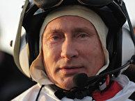 """В.Путин принял участие в экологическом проекте """"Полет надежды"""""""