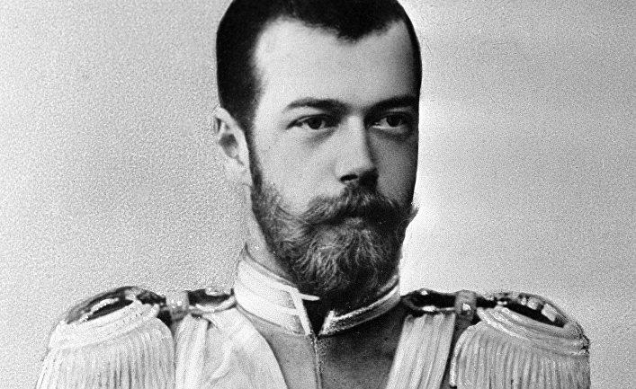 Репродукция фотографии «Император Николай II»