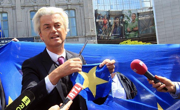 Нидерландский политик, депутат парламента Герт Вилдерс
