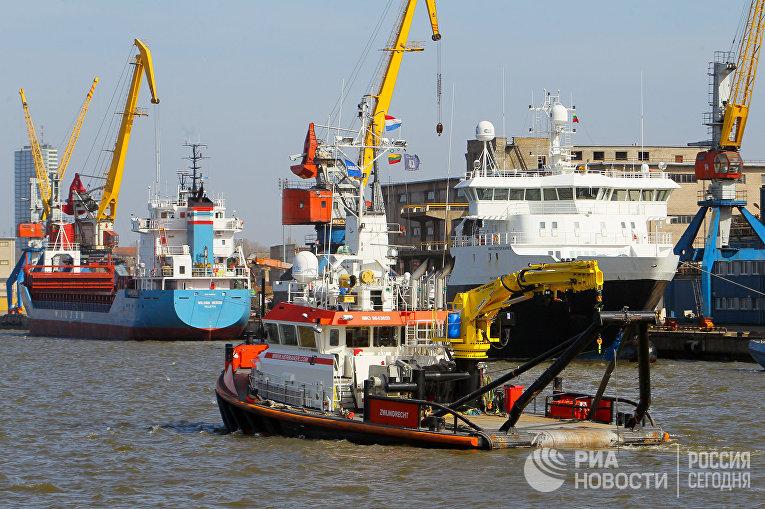 Клайпедский морской порт