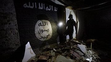Секретная подземная база боевиков ИГИЛ недалеко от Мосула
