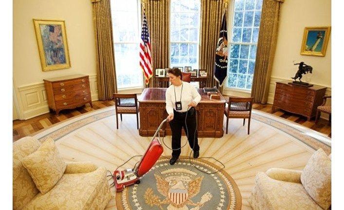 Овальный кабинет в Белом доме США