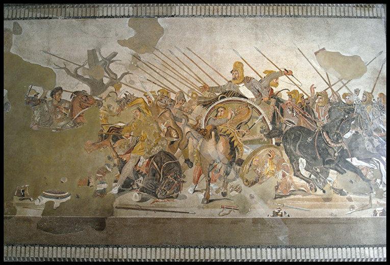 Зачем македонский кричал на солдат