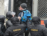 В Минске прошла несанкционированная акция оппозиции