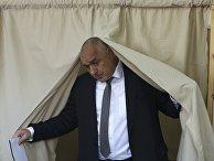 Лидер правоцентристской партии «Герб» Бойко Борисов