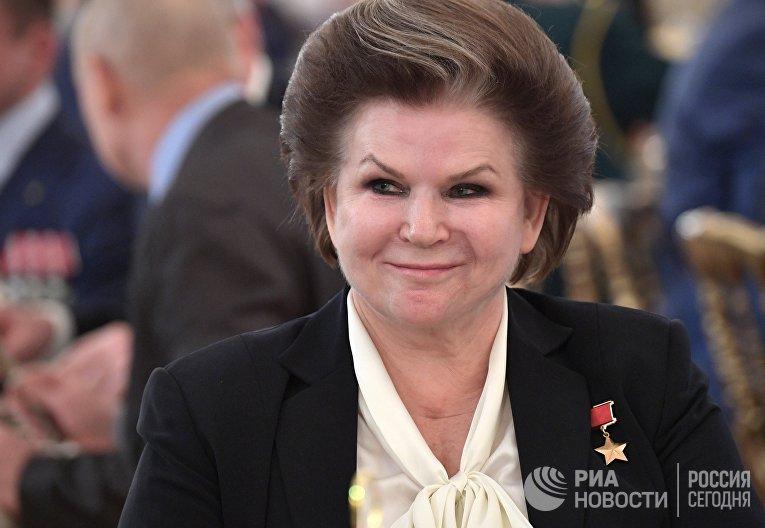 Валентина Терешкова на приёме по случаю Дня Героев Отечества