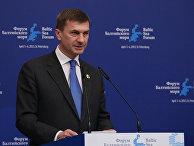 Премьер-министр Эстонии Андрус Ансип