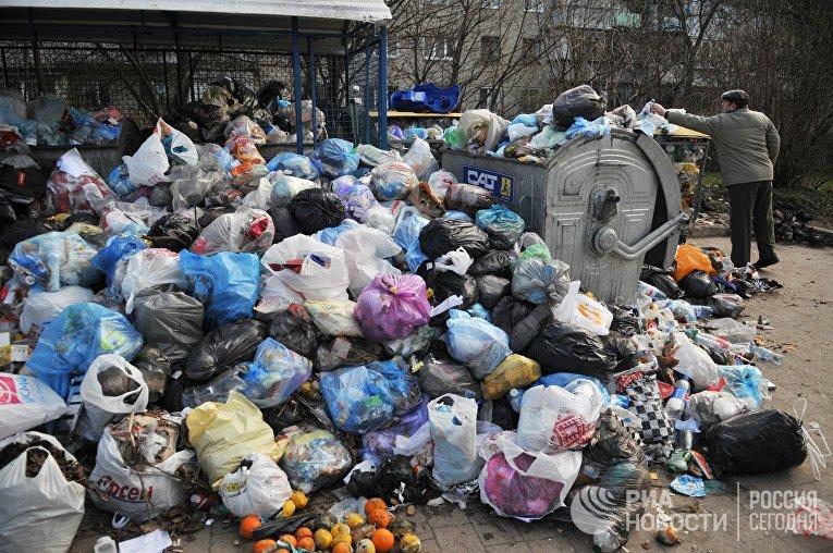 Проблема утилизации бытовых отходов во Львове