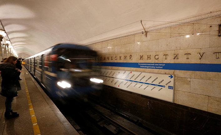 Станция метро «Технологический институт» в Санкт-Петербурге