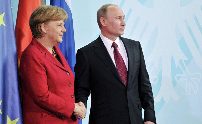 Меркель решила нанести визит в столицуРФ, чтобы «предотвратить худшее»