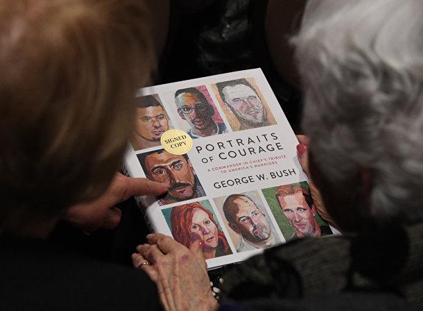 Книга Джорджа Буша «Портреты мужества: дань главнокомандующего Америке»