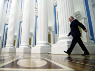Президент России Владимир Путин перед заседанием Совета по культуре и искусству