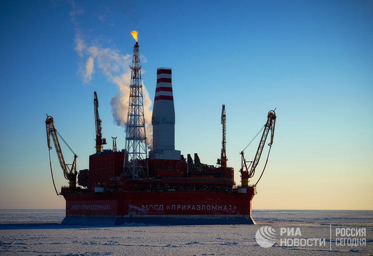 Нефтяная платформа «Приразломная»