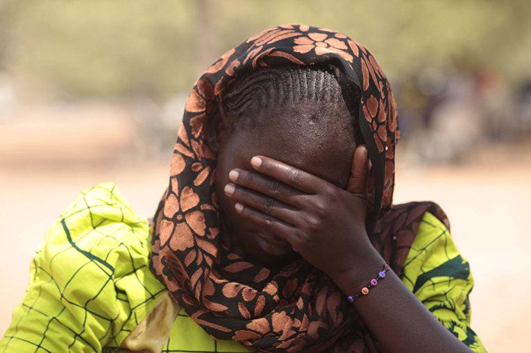 Доркас Айден, одна из девочек, попавших в плен к террористической группировке «Боко Харам»