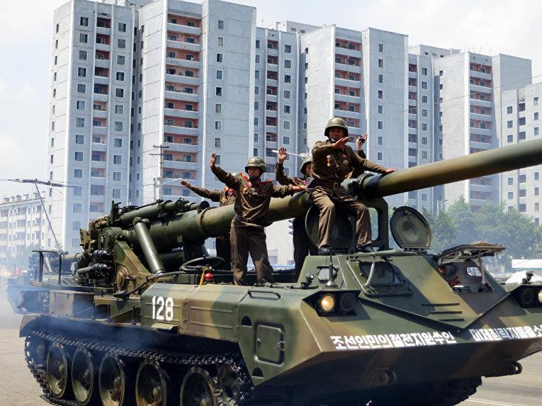 Самоходное орудие, Северная Корея