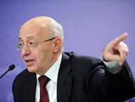 Пресс-конференция Сергея Кургиняна в агентстве РИА Новости