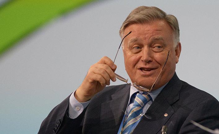 Президент ОАО «Российские железные дороги» Владимир Якунин