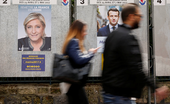 Макрон одержал победу впервом туре выборов президента воФранции