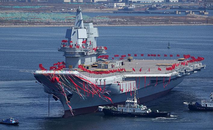 Первый китайский авианосец собственного производства