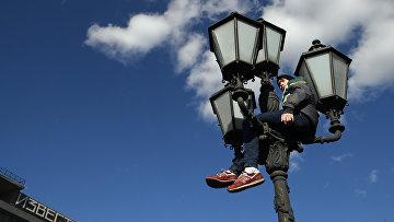 Несанкционированная акция на Пушкинской площади в Москве
