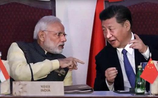 Китай встал между Россией и Индией