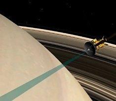 Фантастический «нырок» Cassini