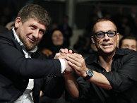 Глава Чеченской Республики Рамзан Кадыров и актер Жан-Клод Ван Дамм