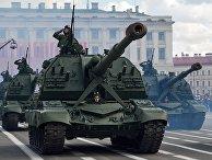 Военный парад, посвящённый 72-й годовщине Победы, в городах России